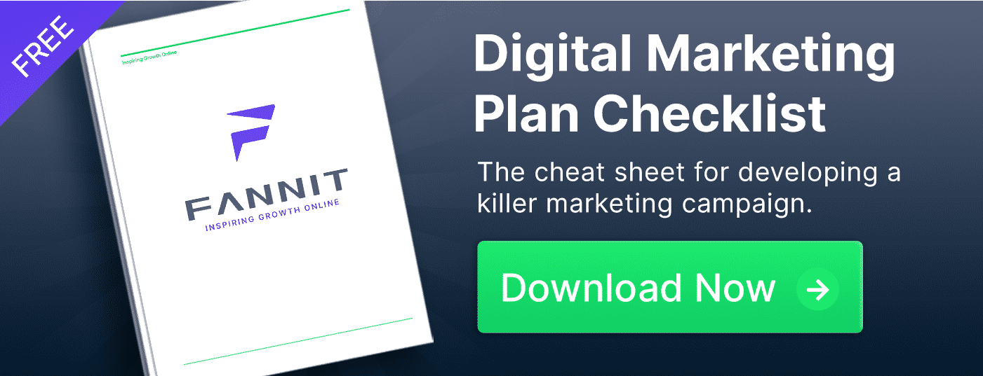 digital marketing success checklist fannit