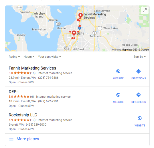 Seattle SEO - Olympia Location