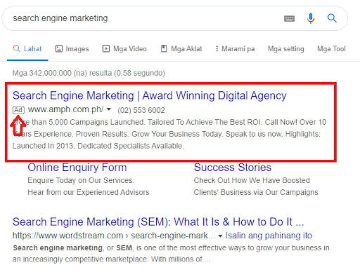 difference between seo