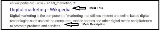 create enticing page titles and meta descriptions